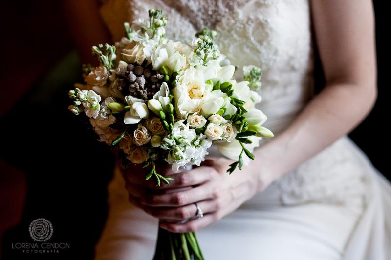 Ramo de novia - Fotografía de boda