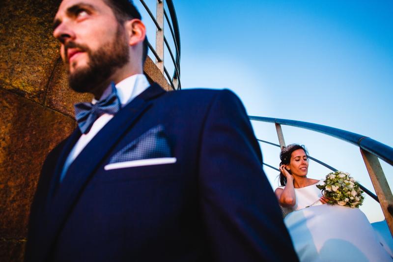 Novio y novia - Fotografía de boda
