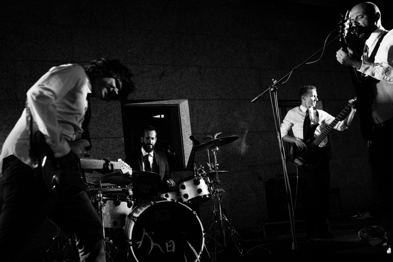 Grupo de música en directo - Fotografía de boda
