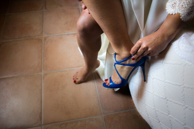 Zapato Novia jimmy choo - Fotografía de boda