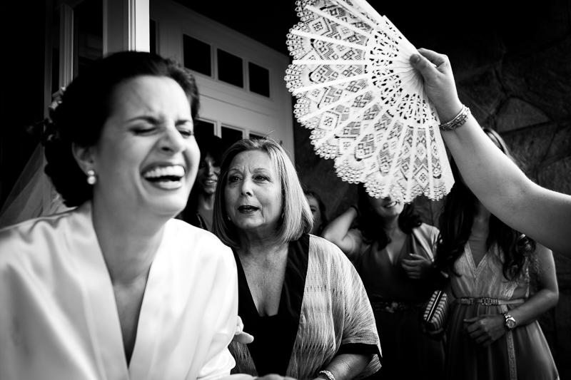 Fotografia de boda en Coruña novia en los preparativos