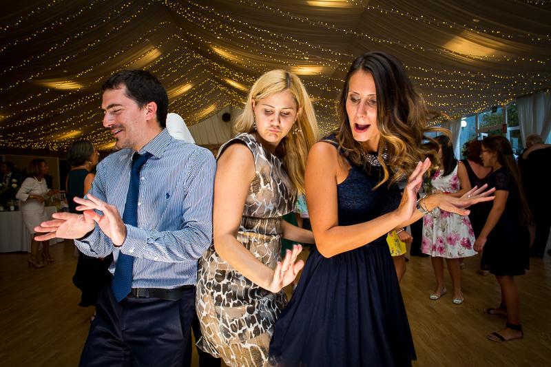 Fotografia de boda en el Pazo de Cores fiesta