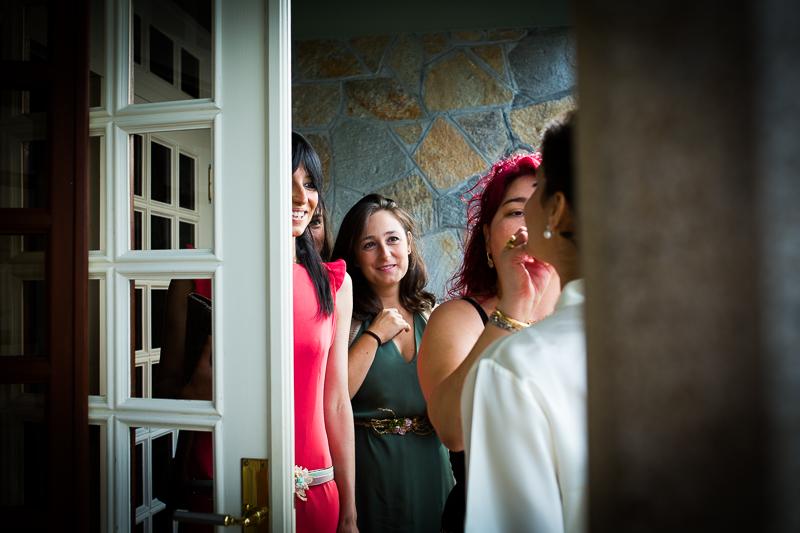 Fotografia de boda en Santiago de Compostela preparativos novia
