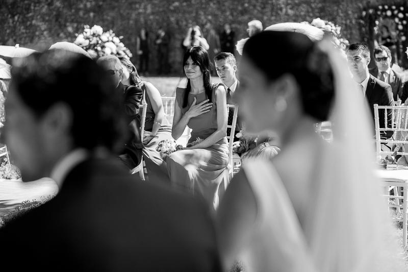 Fotografia de boda en el Pazo de Cores ceremonia