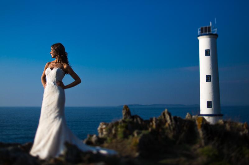 Postboda en Cabo Home fotografia de boda con novia