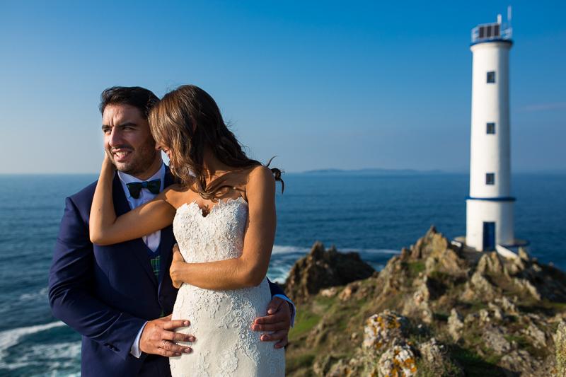 Postboda en Cabo Home pareja de novios