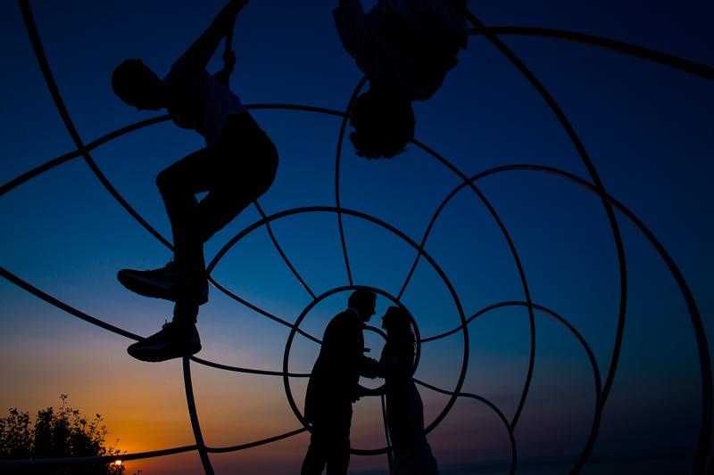 Postboda en Cabo Home foto de pareja de novios