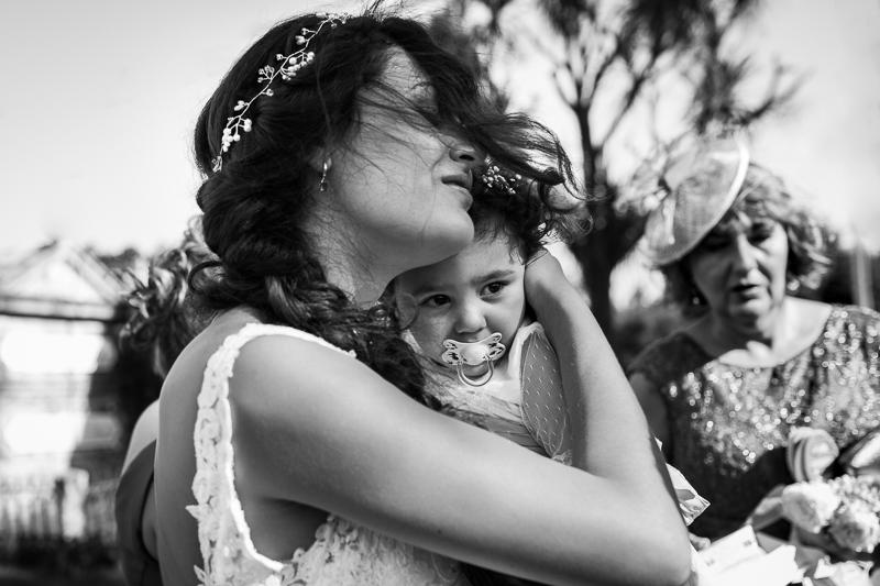 Fotografía de Boda Pazo Torre de Xunqueiras retrato de novia