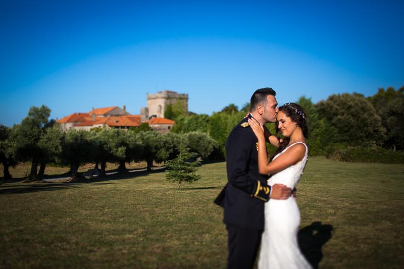 Fotografía de Boda Pazo Torre de Xunqueiras sesión de pareja
