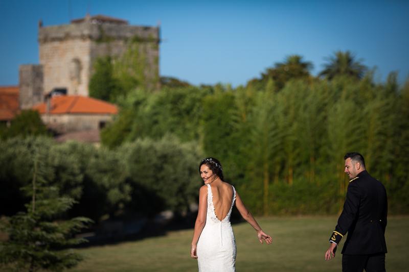 Fotografía de Boda Pazo Torre de Xunqueiras sesión pareja