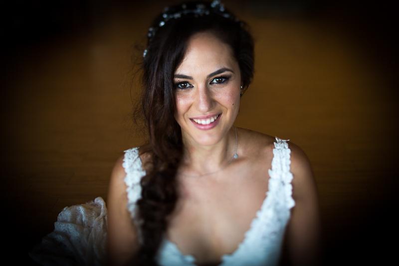 Fotografía de Boda Pazo Torre de Xunqueiras retrato novia