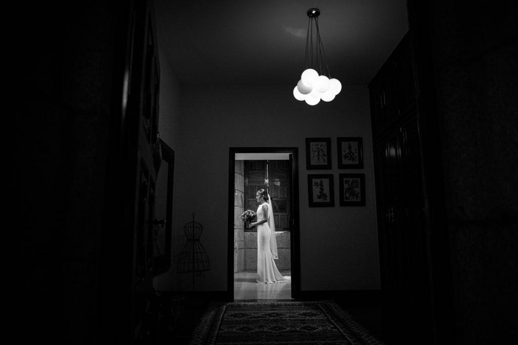 Fotografía de boda Pazo da Touza preparativos novia