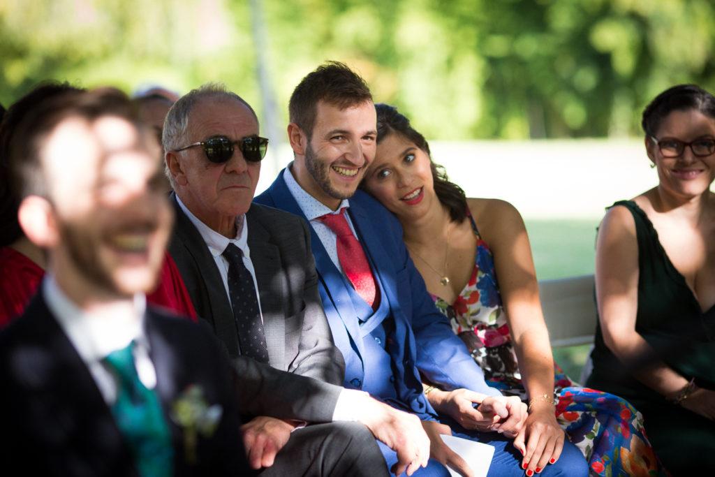 Fotografía de boda Pazo da Touza invitados boda