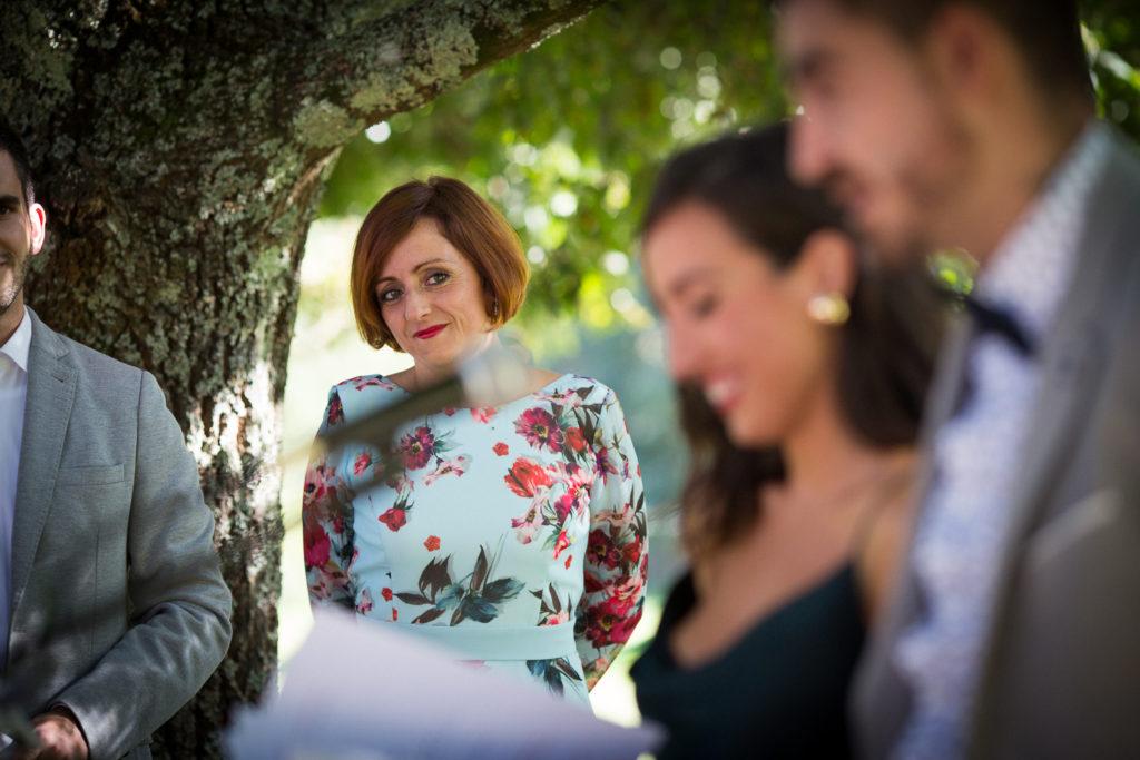 Fotografía de boda Pazo da Touza ceremonia de boda