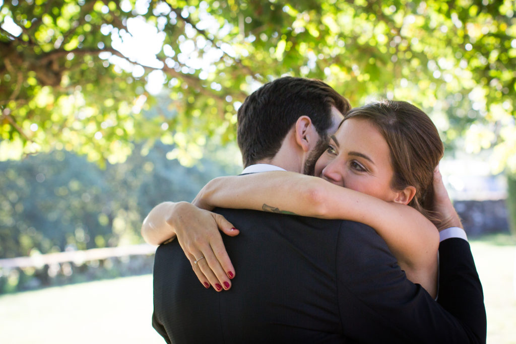 Fotografía de boda Pazo da Touza pareja novios
