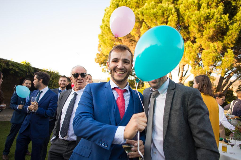 Fotografía de boda Pazo da Touza invitados de boda