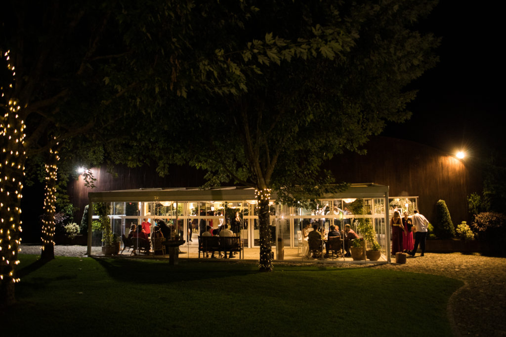 Fotografía de boda Pazo da Touza foto nocturna