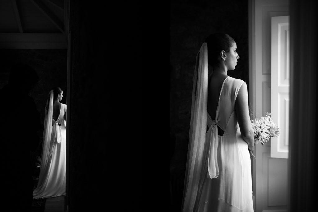 Fotografía de boda novia