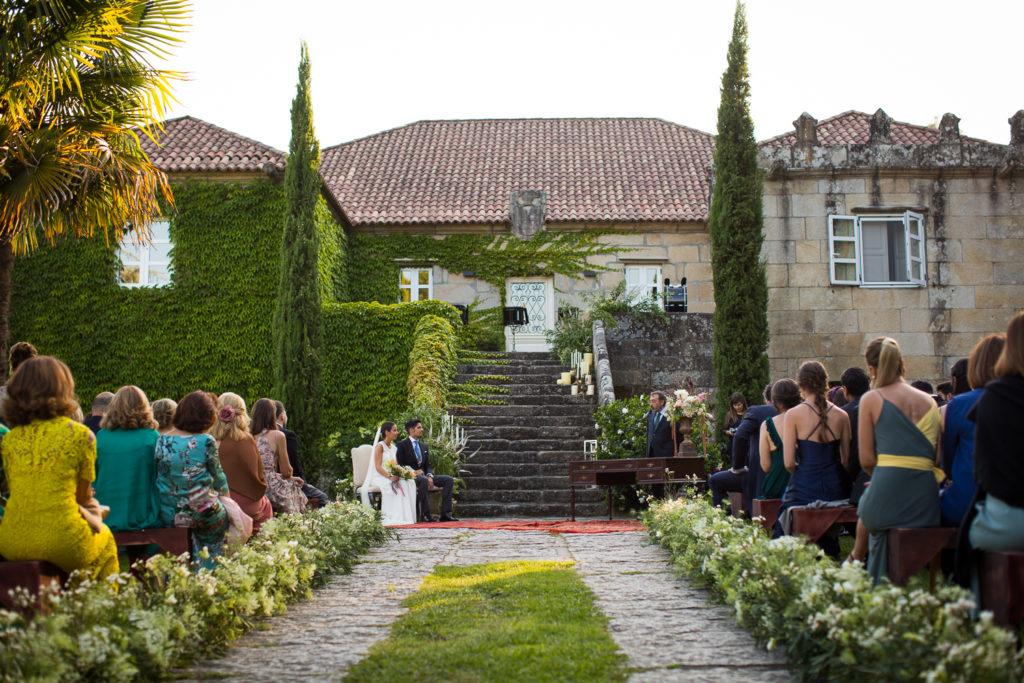 Fotografía de boda ceremonia
