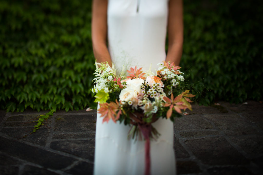 Fotografía de boda ramo de novia