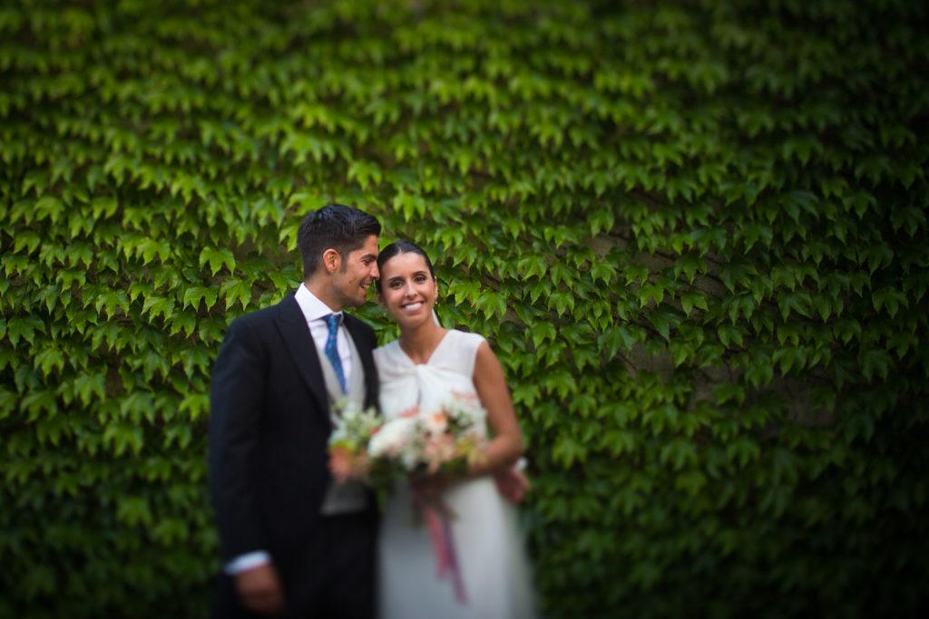 Fotografía de boda pareja de novios