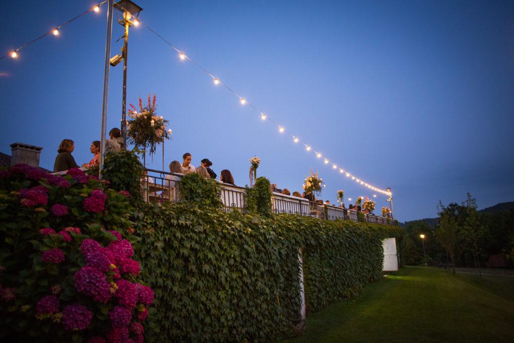 Fotografía de boda decoración en aperitivo