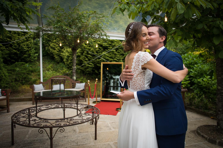 Fotografia de boda novio y novia