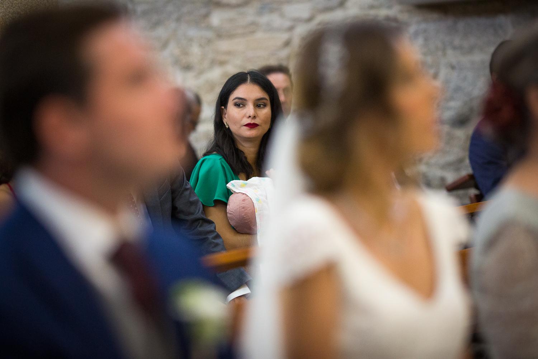 Fotografia de boda invitada