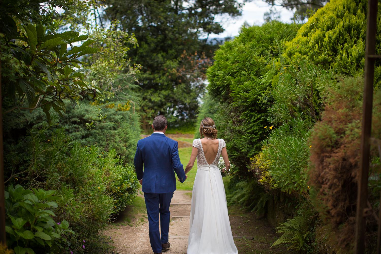 Fotografia de bodas pareja de novios
