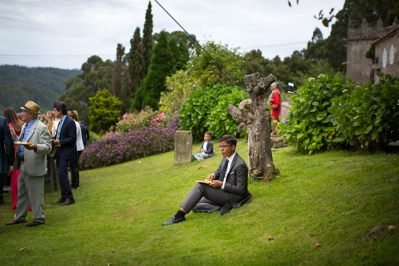 Fotografia de boda invitados