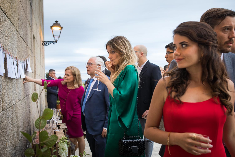 Fotografía de boda invitados
