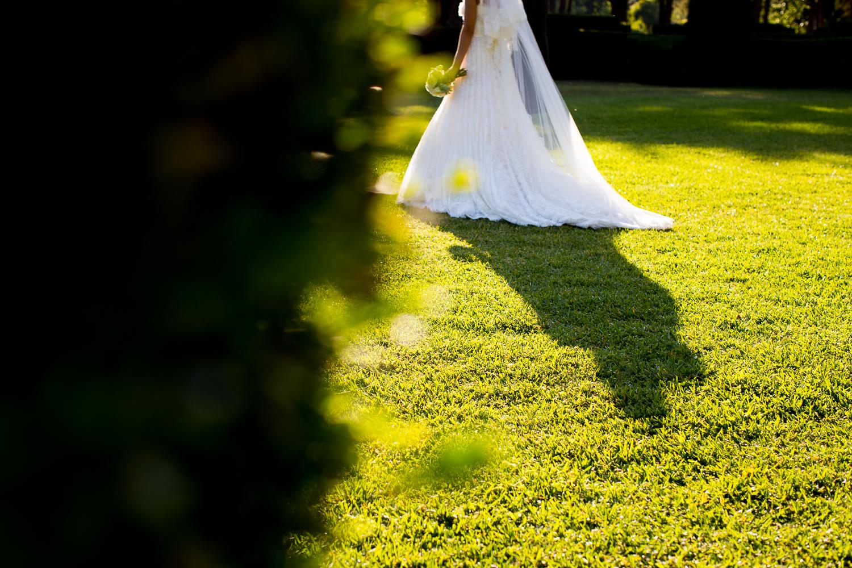 Fotografía de boda vestido de novia