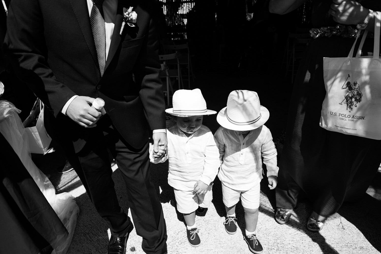 Fotografia de boda niños de arras