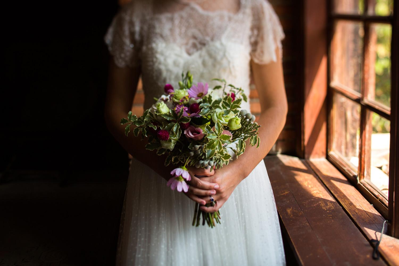 Fotografia de boda novia