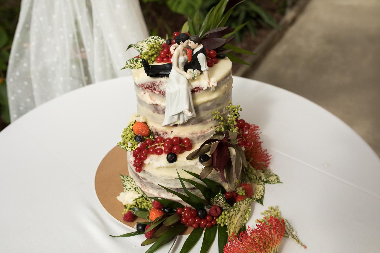 Fotografia de boda tarta de boda