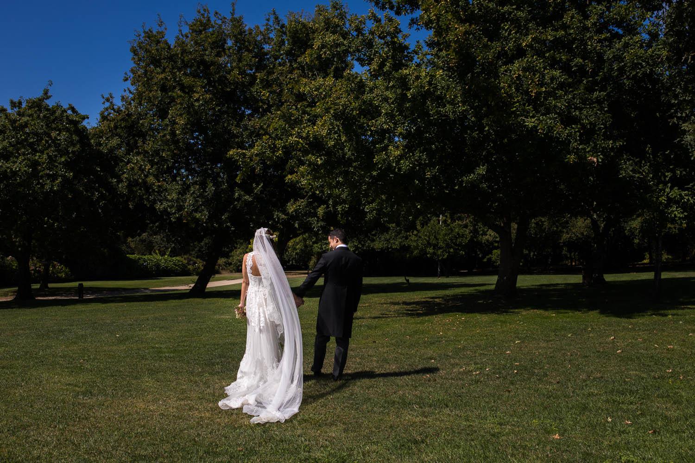 Fotografia de boda pareja de novios