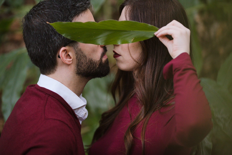 Fotografía de preboda pareja de novios